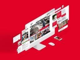 Caritas Online Auftritt - Referenz i-kiu
